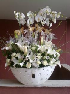 çok özel orkide aranjman vip