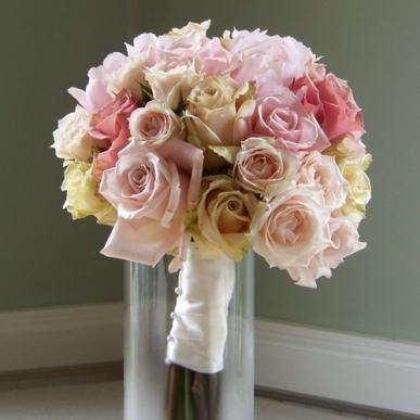pastel tonlarda güller