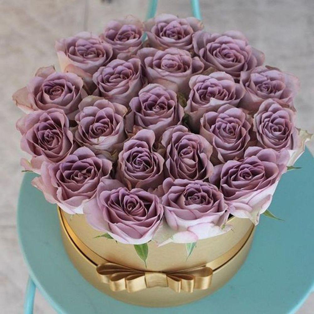 kutuda ithal lila güller